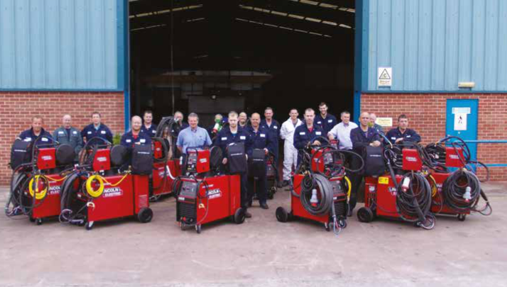 The Ledbury Weld & Engineering Team.